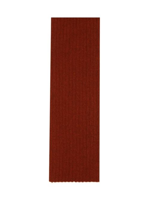 Turuncu Ribli Kadın Atkı
