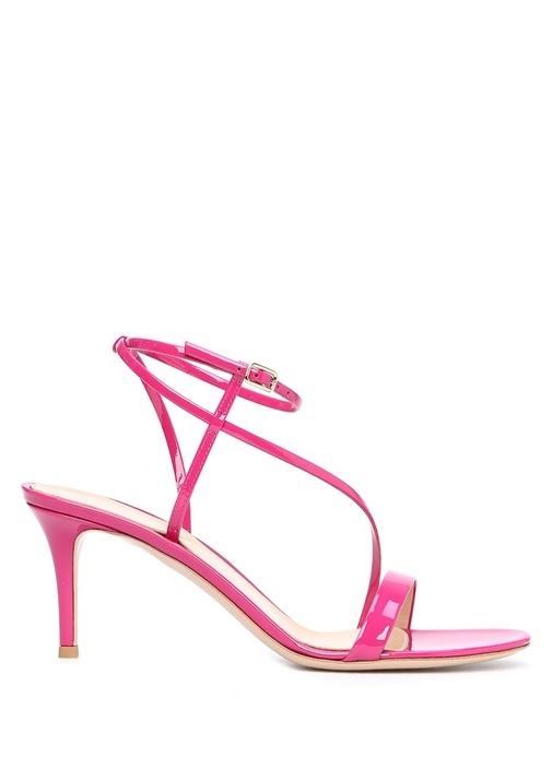 Carlyle Pembe Bant Detaylı Kadın Deri Sandalet