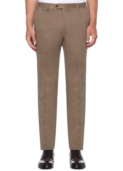 Drop 7 Bej Normal Bel Dar Paça Pantolon