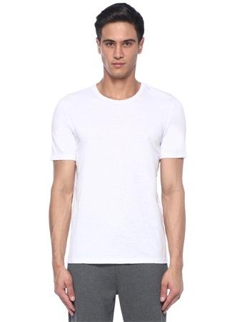 Beyaz Fully Booked Nakışlı Basic T-shirt