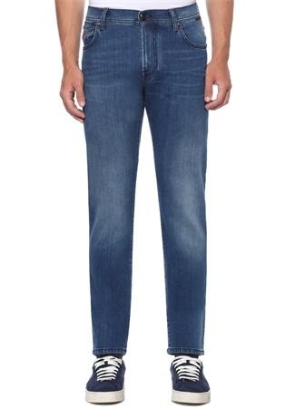 Mavi Normal Bel Dar Paça Jean Pantolon