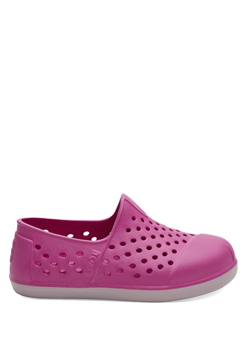 Romper Pembe Delikli Unisex Çocuk Ayakkabı