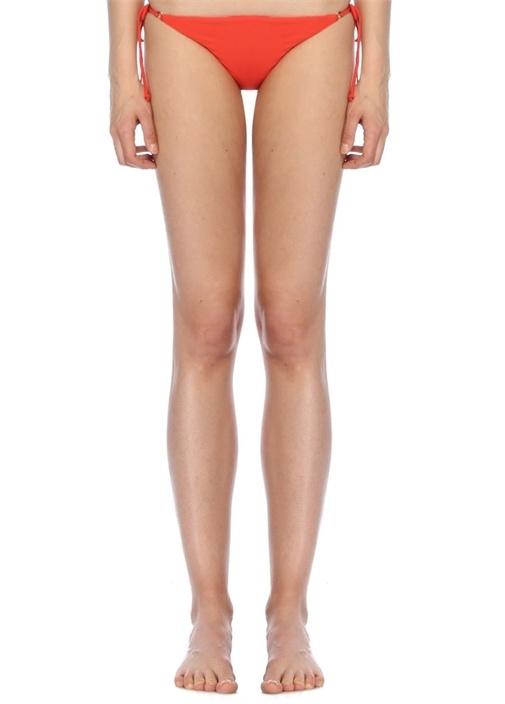 Jade Swım Loop Kırmızı Yanları Bağcıklı Bikini Altı – 899.0 TL
