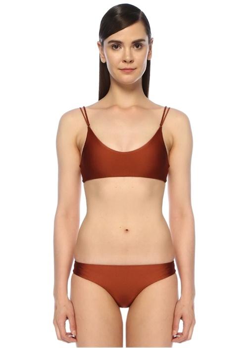 Jade Swım Duality Bakır Gold Tokalı Çift Askılı Bikini Üstü – 929.0 TL