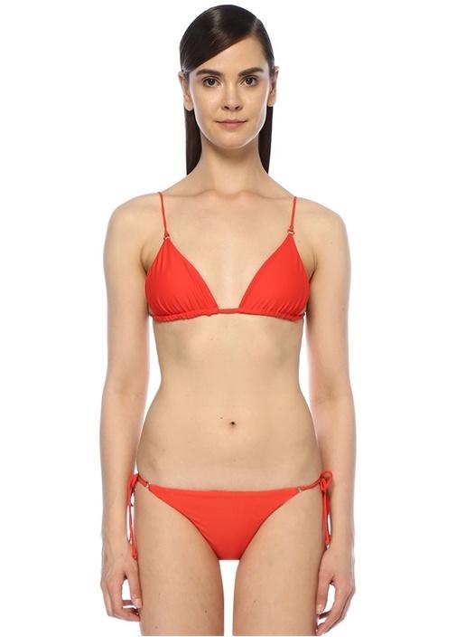 Jade Swım Lido Kırmızı Bağcıklı Üçgen Bikini Üstü – 929.0 TL