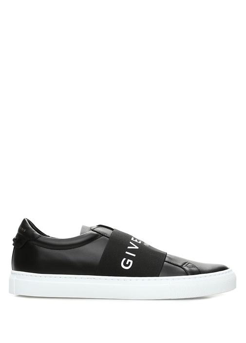 Urban Street Siyah Bantlı Erkek Deri Sneaker