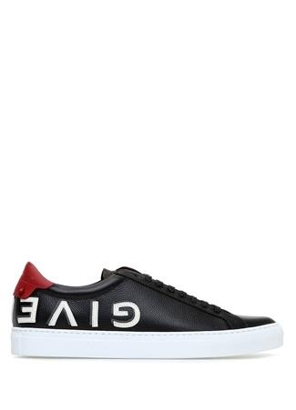 Urban Street Siyah Logolu Erkek Deri Sneaker