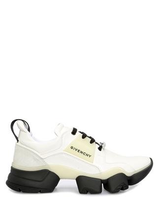 Givenchy Erkek Jaw Beyaz Logolu Garnili Sneaker 43 EU male
