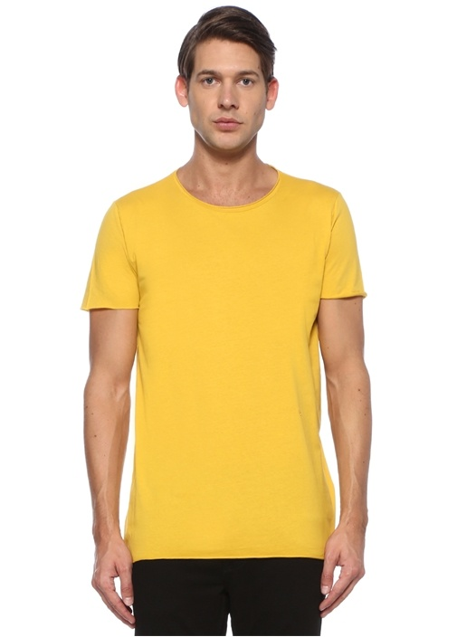 Kim Sarı Basic T-shirt