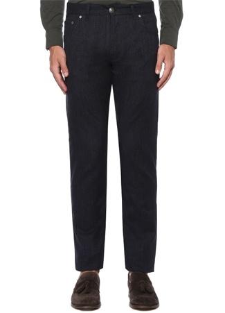 Slim Fit Lacivert Normal Bel Chino Pantolon