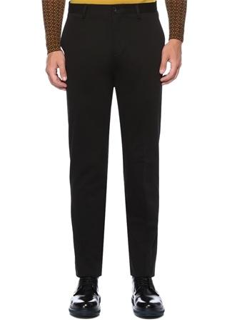 Slim Fit Siyah Normal Bel Pantolon