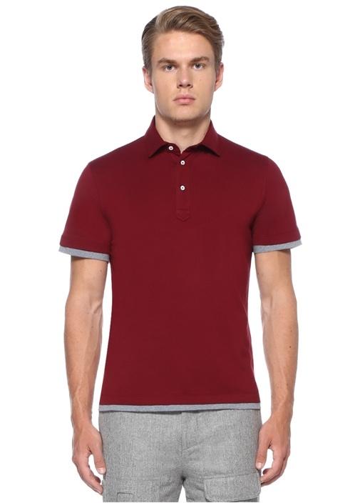 Regular Fit Kırmızı Polo Yaka T-shirt