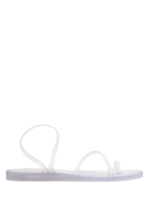 Eleftheria Silver İnce Bantlı Kadın Sandalet