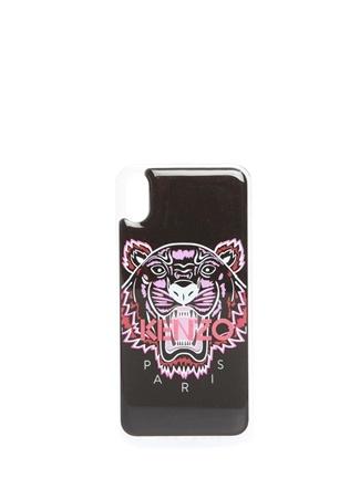 Kenzo Kadın Siyah Logo Baskılı iPhone Xs Max Telefon Kılıfı EU female Standart