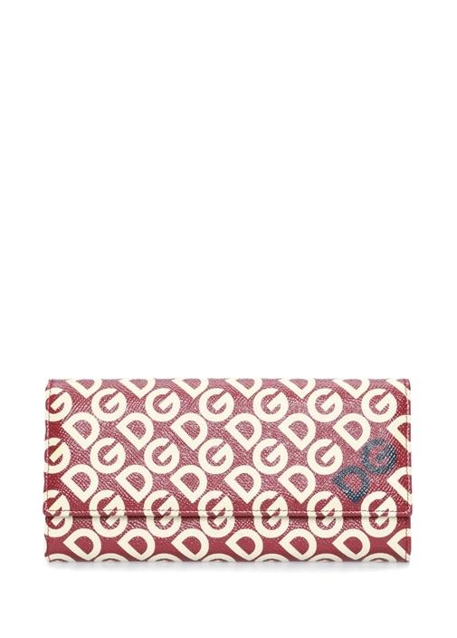 Continental Kırmızı Logolu Kadın Deri Cüzdan