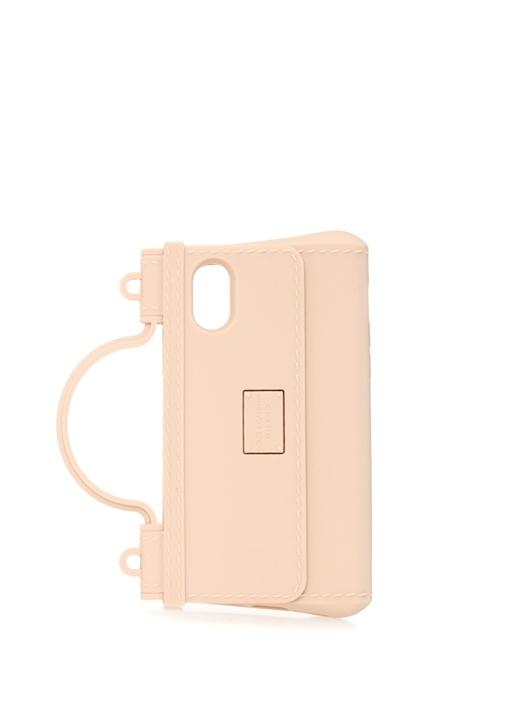 Sicily Pembe Çanta Formlu iPhone X Telefon Kılıfı