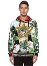 Tropical King Kapüşonlu Baskılı Sweatshirt