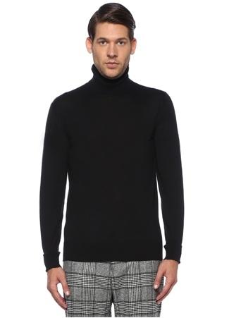 Dolce&Gabbana Erkek Siyah Balıkçı Yaka Kaşmir Kazak 54 IT male