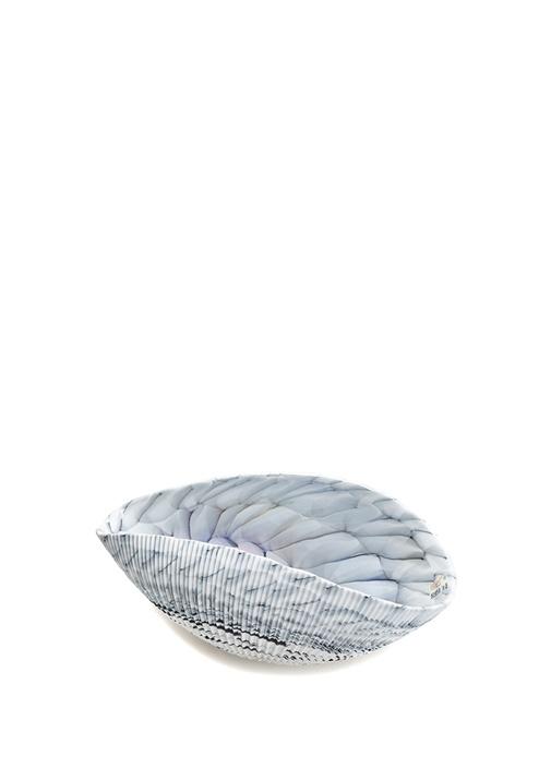 Shell Small İstiridye Formlu Cam Dekoratif Kase