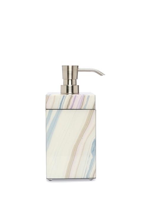 Dalga Desenli Dekoratif Kutulu Sıvı Sabunluk