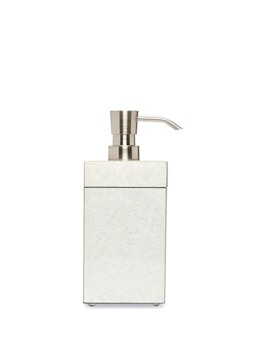 Silver Desenli Dekoratif Kutulu Sıvı Sabunluk