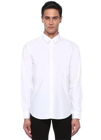 Beyaz İngiliz Yaka Gömlek