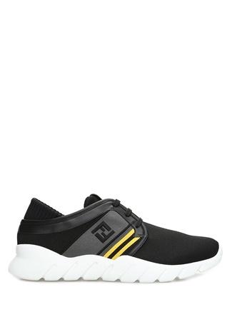 Siyah Logo Bantlı Erkek Sneaker