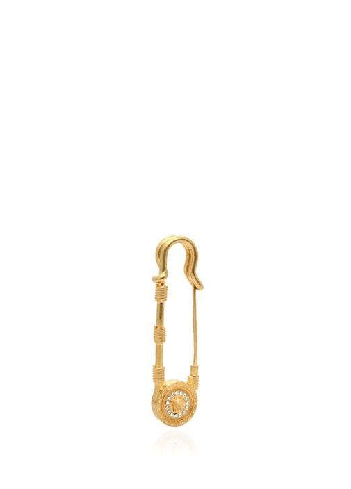 Gold Logolu Kadın Broş