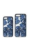 Beyaz Mavi Desenli iPhone 6 7 8 TelefonKılıfı