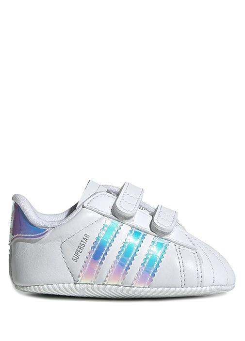 Super Star Beyaz Unisex Çocuk Deri Sneaker