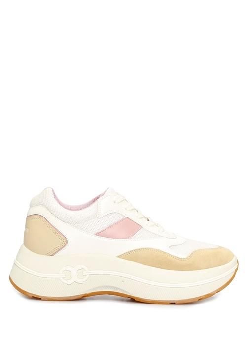 Gemini Link Beyaz File Dokulu Kadın Sneaker