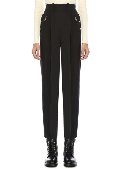 2 Moncler 1952 Valextra Siyah Pantolon