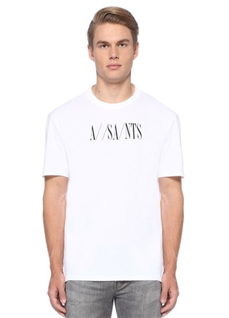 Dash Oversize Fit Beyaz Logolu Basic T-shirt