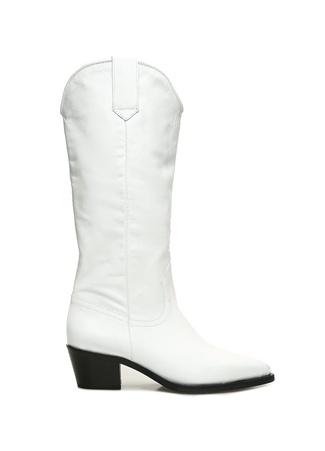 Blender Originated Kadın Beyaz Deri Çizme 39