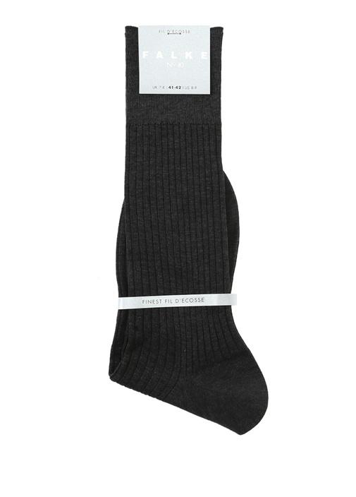 Antrasit Ribli Erkek Çorap