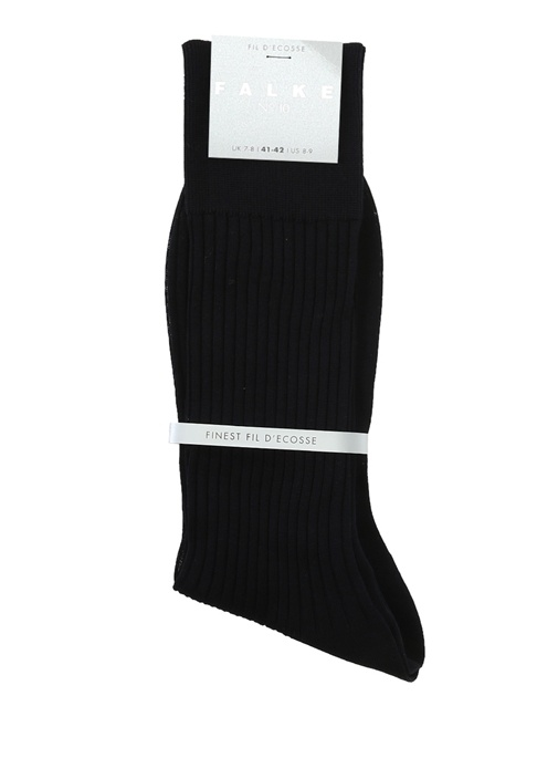 Lacivert Ribli Erkek Çorap