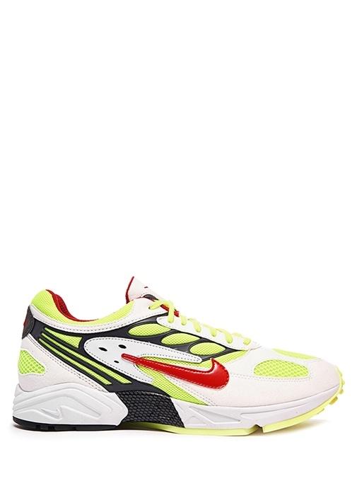 Air Ghost Racer Sarı Beyaz Erkek Sneaker