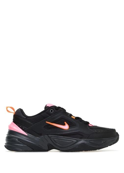 M2k Tekno Siyah Neon Pembe Logolu Erkek Sneaker