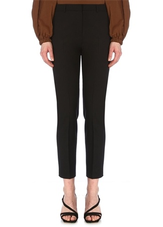 Beymen Club Kadın Siyah Normal Bel Klasik Cigarette Pantolon 40 female