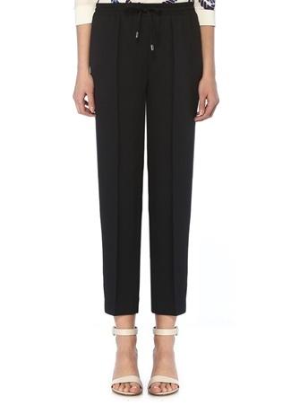 Beymen Club Kadın Siyah Beli Bağcıklı Pijama Pantolon Lacivert 36 female