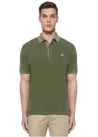 Beymen Club Erkek Comfort Fit Haki Pike Dokulu Polo Yaka T-shirt XL male