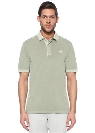 Beymen Club Erkek Comfort Fit Yeşil Pike Dokulu Polo Yaka T-shirt M male