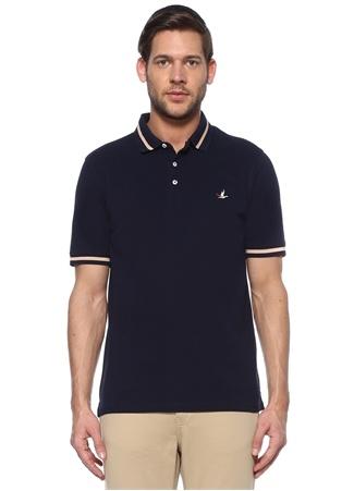 Beymen Club Erkek Comfort Fit Lacivert Çizgi Detaylı T-shirt XXL male