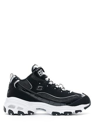 Skechers Kadın D Lites Style Revamp Siyah Beyaz Sneaker 36.5 EU
