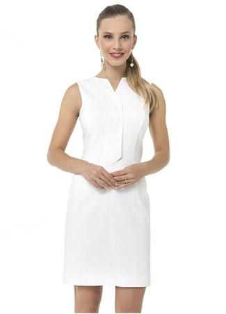 Kadın Switch Ekru Mini Elbise Bej 38 EU