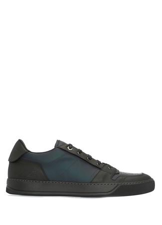 Lanvin Erkek Lacivert Deri Sneaker 7 UK male