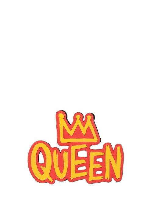 Kırmızı Sarı Queen Formlu Hediye