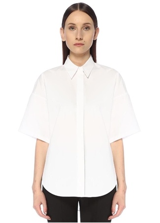 Beymen Collection Kadın Beyaz İngiliz Yaka Gömlek 34 female
