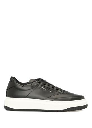 Paul Smith Erkek Siyah Logolu Deri Sneaker UK male 11
