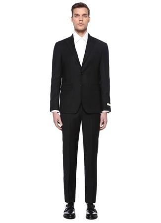 Beymen Collection Erkek Drop 7 Siyah Yün Soft Takım Elbise 48 IT male